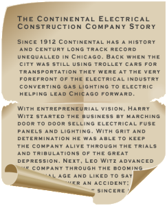 Continental Electrical Construction Company Story